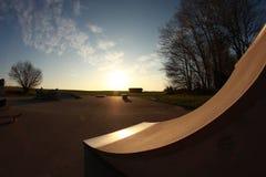 Skatebark Arkivfoton