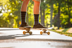 Skateboading Foto de archivo libre de regalías