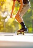 Skateboading Στοκ εικόνα με δικαίωμα ελεύθερης χρήσης