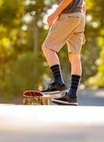 Skateboading Fotografía de archivo