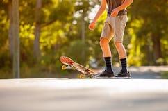 Skateboading Στοκ Φωτογραφίες