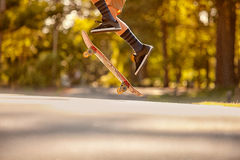 Skateboading Στοκ Εικόνες