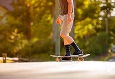 Skateboading Στοκ εικόνες με δικαίωμα ελεύθερης χρήσης
