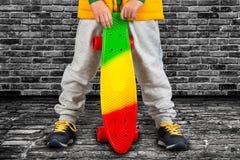 Skateboard στενός επάνω ακραίος αθλητισμός στοκ εικόνα