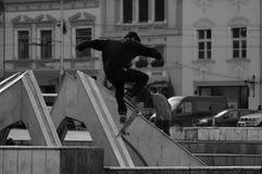 skateboard άλματος Στοκ εικόνες με δικαίωμα ελεύθερης χρήσης