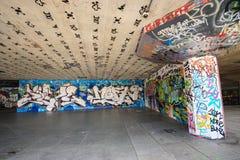 Skateboard οδών προαυλίων Στοκ Εικόνες