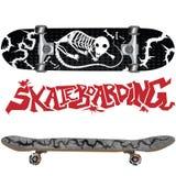 skateboard σχεδίου Στοκ φωτογραφία με δικαίωμα ελεύθερης χρήσης