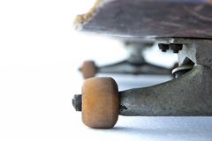 Skateboard. Front Skateboard on white background stock photography