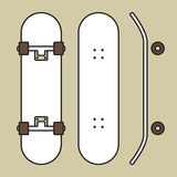 Skateboard Stockfotografie
