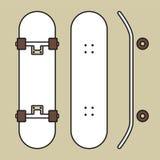 skateboard Arkivbild
