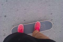 skateboard photographie stock libre de droits