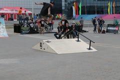 skateboard Royalty-vrije Stock Afbeelding
