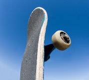 Skateboard stock images