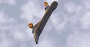 skateboard banque de vidéos