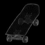 Skateboard auf Hintergrund Lizenzfreies Stockbild