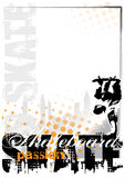 Skateboard background Royalty Free Stock Image