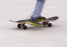 Skateboard blur background Royalty Free Stock Images