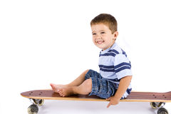 Skateboard boy Royalty Free Stock Image