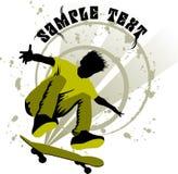 Skateboard boy Stock Photography