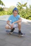 Skateboard boy Stock Photo