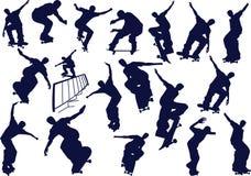 Skateboard boys Royalty Free Stock Photos