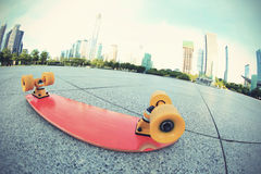 Skateboard on city Royalty Free Stock Photography