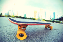 Skateboard on city Royalty Free Stock Image