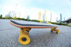 Skateboard on city Stock Images