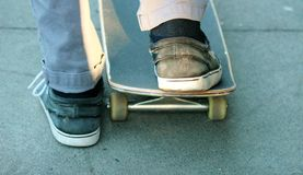 Skateboard Concrete Board Stock Photography