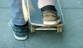 Skateboard concrete board Stock Photography