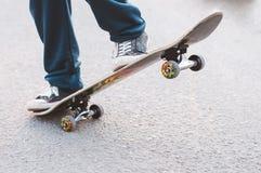 Skateboard craze Stock Photography