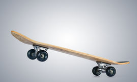 Skateboard deck. File contains a path to isolation Royalty Free Stock Image