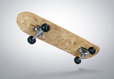 Skateboard deck. File contains a path to isolation Stock Photography