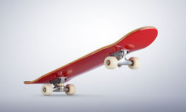Skateboard deck. File contains a path to isolation. Stock Photo