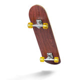 Skateboard deck on white background Stock Photo