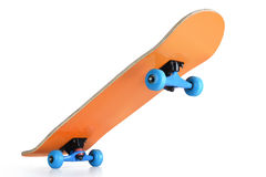 Skateboard deck on white background, isolated path included Stock Photography