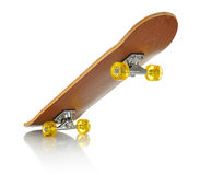 Skateboard deck on white background Stock Photography