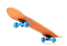 Skateboard deck on white background,  path included Stock Photo