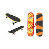 Skateboard Design From Different Angles Stock Photos