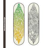 Skateboard Design Five Stock Photography