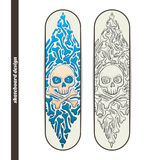 Skateboard Design One Royalty Free Stock Photo