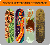 Skateboard design pack Royalty Free Stock Photo