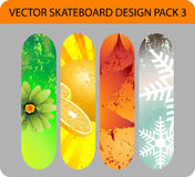 Skateboard design pack Stock Photo