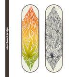 Skateboard Design Three Stock Photo