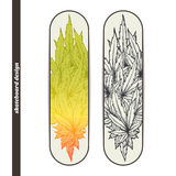 Skateboard Design Two Stock Photography