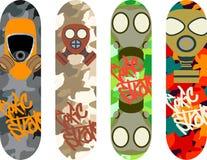 Skateboard design Stock Photography