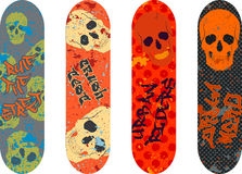 Skateboard design Stock Photo