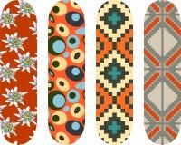 Skateboard designs Royalty Free Stock Image
