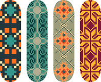 Skateboard designs Royalty Free Stock Photos