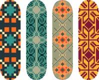 Skateboard designs Royalty Free Stock Photos